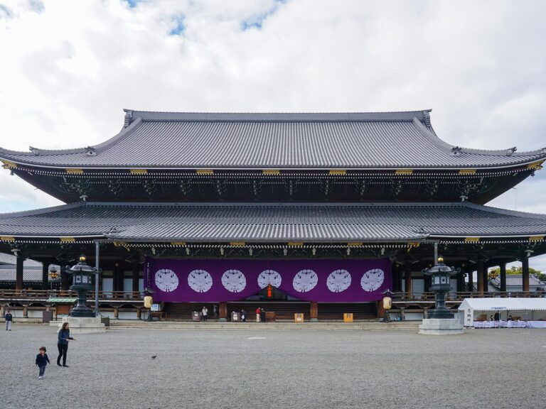 (真宗大谷派の本山)東本願寺 Higashi Hongan-ji Temple