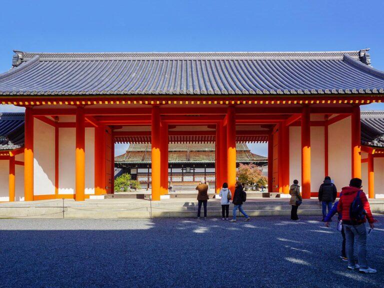 (日本の歴史の中心)京都御所 The Kyoto Imperial Palace