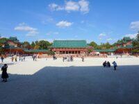(平安京の朝堂院を再現)平安神宮 Heian-jingū Shrine
