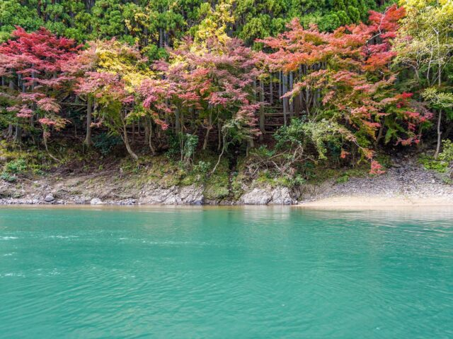 The Hozu River Boat Ride