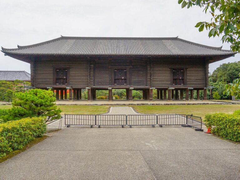 (シルクロードの終点)正倉院 The Shōsō-in Repository