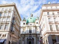 (ウィーン最古の教会とも言われる)聖ペーター教会 The Peterskirche