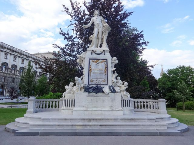 The Mozart Monument