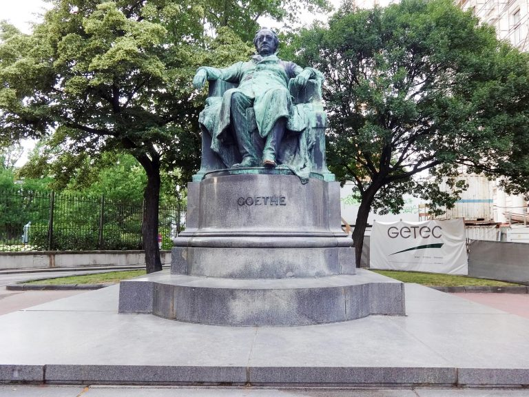The Goethe Monument
