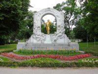 (ヨハン・シュトラウス2世)ヨハン・シュトラウス記念碑 The Johann Strauss Monument