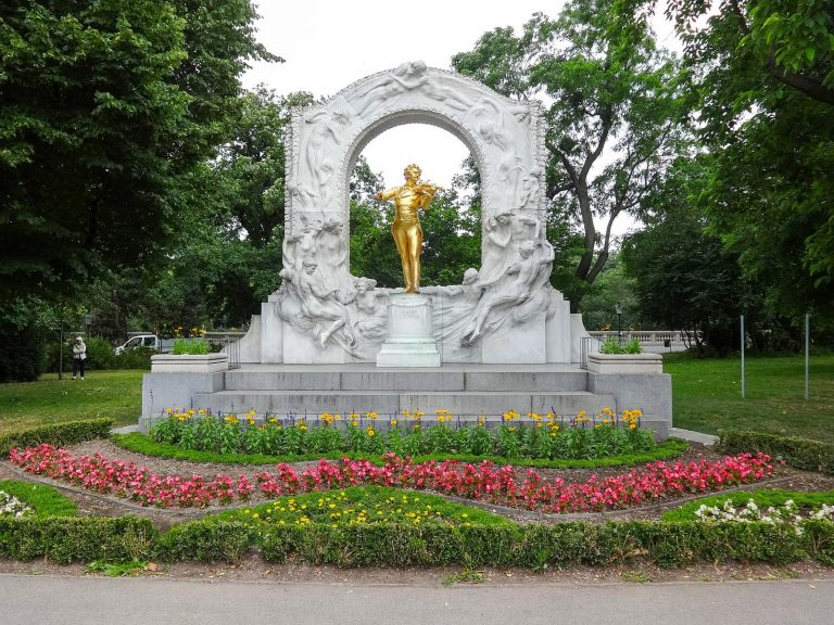 The Johann Strauss Monument