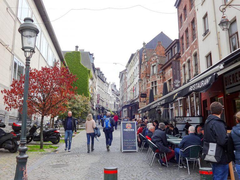 (素敵な通り)ロルビーク通り Rue de Rollebeek