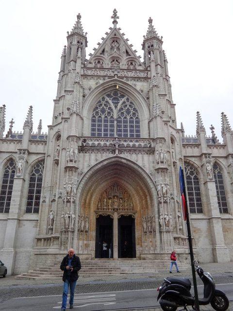 The Église Notre-Dame du Sablon