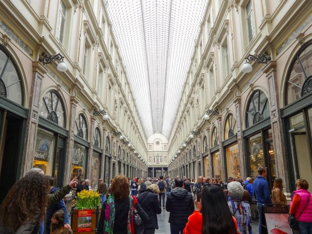 The Galeries Royales Saint-Hubert