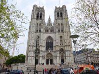 (ブリュッセルの信仰の中心)聖ミッシェル大聖堂 The Co-Cathédrale collégiale des Ss-Michel et Gudule