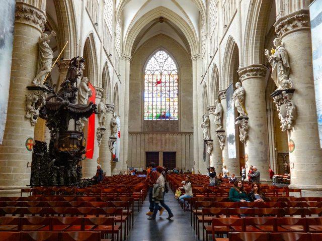 The Co-Cathédrale collégiale des Ss-Michel et Gudule