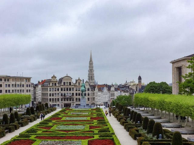 The Mont des Arts (the Mount of the Arts)