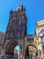 (プラハ旧市街への市門、王の道の始点)火薬塔 The Powder Tower
