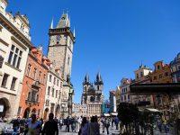 (プラハ旧市街の中心)旧市街広場 The Old Town Square