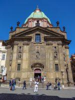 (カレル橋東詰に立つ)アッシジの聖フランシスコの教会 St. Francis of Assisi Church