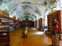 (図書室が美しい)ストラホフ修道院 Strahov Monastery