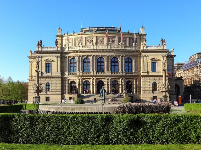(チェコ・フィルハーモニー管弦楽団のホーム)ルドルフィヌム The Rudolfinum