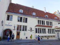 (ヨーロッパで最古の今も続く薬局の一つ)市庁舎薬局 Raeapteek