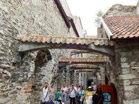 (タリンで最も古い建物の一つ)聖カタリーナ・ドミニコ修道院 St. Catherine's Dominican Monastery