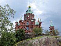 (西ヨーロッパ最大の正教の教会)ウスペンスキー大聖堂 Uspenski Cathedral