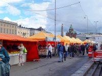 (港の横の屋外市場)マーケット広場 The Market Square