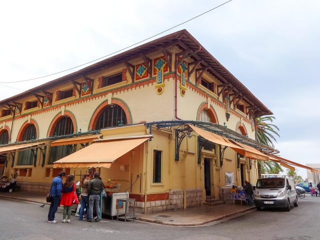 The Covered Market of Menton
