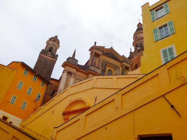The Basilica of St. Michael Archangel of Menton