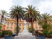 (ジャン・コクトーが装飾した結婚式場がある)マントン市庁舎 The Town Hall of Menton