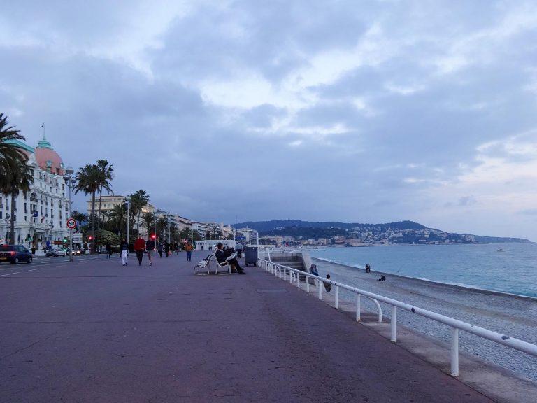 The Promenade des Anglais