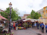 (花市場が立つ古い広場)サレヤ広場 The Cours Saleya