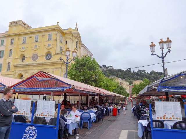 The Cours Saleya