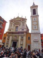 (ニース旧市街の中心)ニース大聖堂 Nice Cathedral