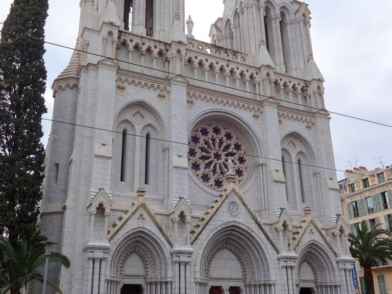 (聖母マリアの聖堂)ニースのノートルダム聖堂The Basilica of Notre-Dame de Nice