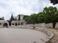 (ローマ時代の円形競技場)シミエ競技場 The Arena of Cimiez
