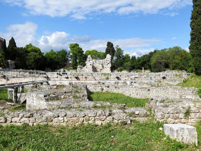 The Roman Baths of Cimiez