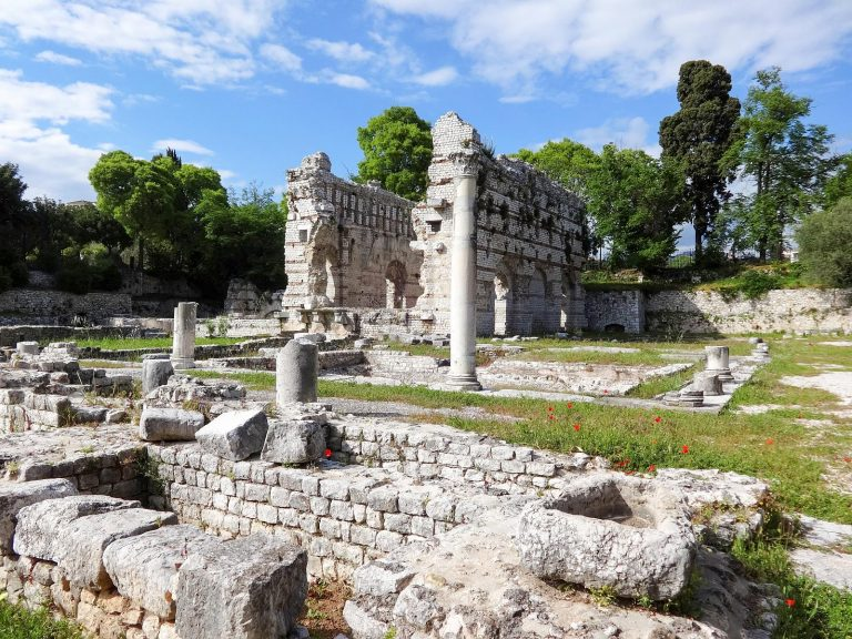 The Roman Baths of Cimiez