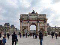 (カルーゼル凱旋門)カルーゼル広場 The Place du Carrousel
