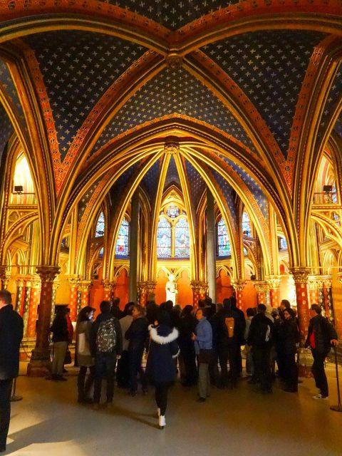 The Sainte-Chapelle