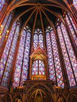 (極上のステンドグラス窓)サント・シャペル The Sainte-Chapelle