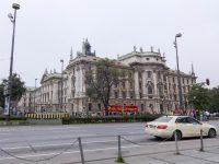 (バロック・リヴァイヴァル様式の司法宮)ミュンヘン司法宮 The Justizpalast Munich