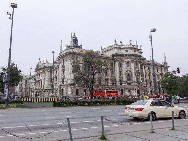 The Justizpalast Munich