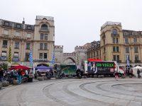 (旧市街への入口カールス門が立つ)カールス広場 Karlsplatz18