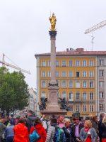 (ミュンヘン旧市街の中心)マリエン広場 Marienplatz