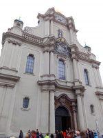 (ロココのフレスコ画が優美な)聖霊教会 Heiliggeistkirche