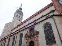 (ミュンヘンの発祥の地)聖ペーター教会 Peterskirche