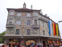 (ミュンヘン最古の通りの一つ)リンダーマルクト Rindermarkt
