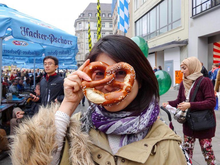 (ドイツの伝統的なパン)プレッツェル Pretzel
