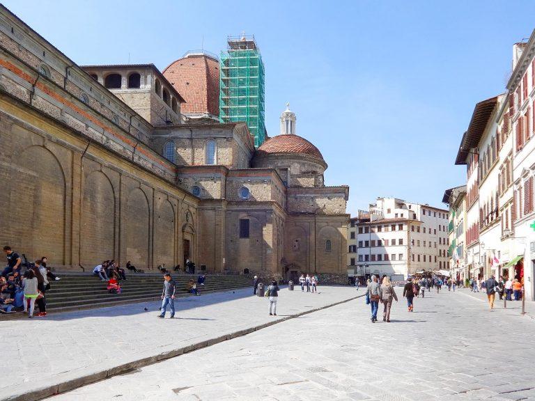 (メディチ家の栄光)サン・ロレンツォ聖堂 The Basilica di San Lorenzo