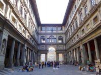 (世界最大の美術館の一つ)ウッフィーツィ美術館 The Uffizi Gallery