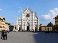 (イタリアの栄光の神殿)サンタ・クローチェ聖堂 The Basilica di Santa Croce